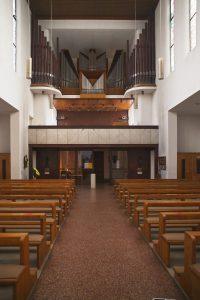 Stockmann-Orgel in St. Bernhard